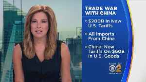 Trade War With China Heats Up [Video]