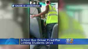 Video Show Bus Driver Letting Students Behind The Wheel [Video]