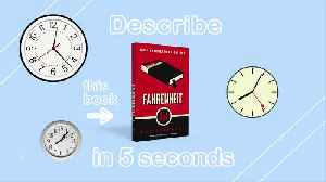 5 Second Summaries with Off the Shelf: FAHRENHEIT 451 [Video]