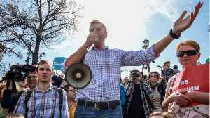Russian Opposition Leader Navalny Detained Upon Jail Release [Video]