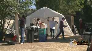 South Bay Homeless Camp Moves For Second Time In Two Weeks [Video]