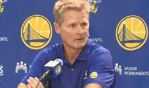WARRIORS: Golden State coach Steve Kerr talks about the upcoming season [Video]
