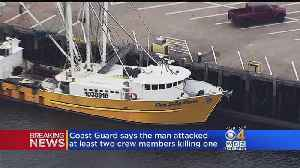 Coast Guard Investigates Homicide On Fishing Boat [Video]