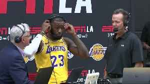 LeBron James makes debut with Los Angeles Lakers [Video]