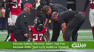 Ouch: Falcons' Ricardo Allen Has Torn Achilles, Out For Season [Video]