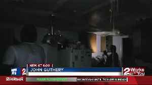 Former football player loses home in fire [Video]