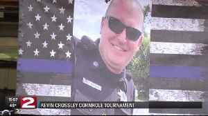 Memorial fund aims to keep officer Kevin Crossley's memory alive [Video]
