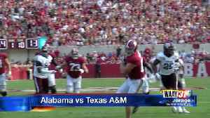 Tide continue their dominance against Texas A&M [Video]