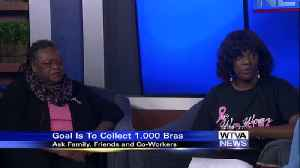 Bra collection to help fight cancer [Video]