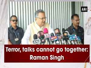 Terror, talks cannot go together: Raman Singh [Video]