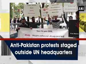 News video: Anti-Pakistan protests staged outside UN headquarters