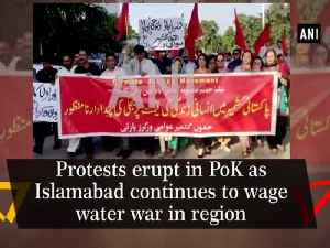 Protests erupt in PoK as Islamabad continues to wage water war in region [Video]