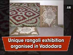 Unique rangoli exhibition organised in Vadodara [Video]