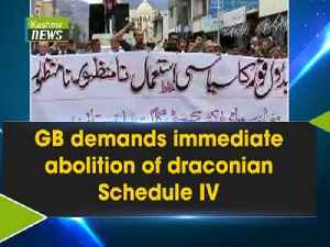 GB demands immediate abolition of draconian Schedule IV [Video]