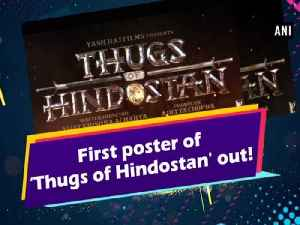First poster of 'Thugs of Hindostan' out! [Video]
