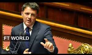 Italy's expansionary budget   FT World [Video]