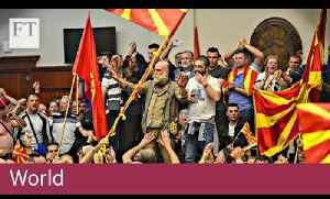 Macedonia in political turmoil | World [Video]