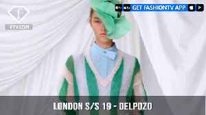 Delpozo London Spring/Summer 2019 Flowers Curves and Colors | FashionTV | FTV [Video]