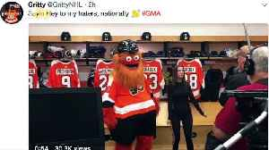 New Philadelphia Flyers Mascot Gets Icy Reception on Twitter [Video]