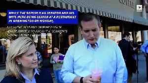 Ted Cruz Forced From Restaurant by Left-Wing Activists [Video]
