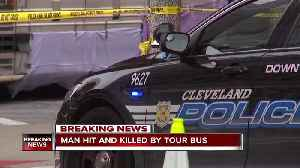 Man hit, killed by musician Gary Numan's tour bus in downtown Cleveland [Video]