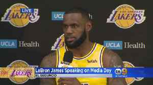 LeBron James Speaks On Expectations For Lakers This Season [Video]