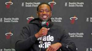 Dwyane Wade says money did not influence decision to return for another season with Heat [Video]