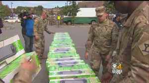 National Guard Helps Hand Out Space Heaters In Merrimack Valley [Video]