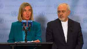 Iran Nuclear Deal Signatories Plan To Keep Agreement Afloat And Dodge US Sanctions [Video]