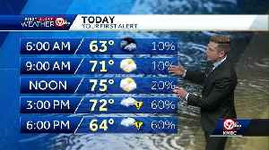 First Alert: Rain chances increase Tuesday afternoon [Video]