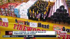 City Council expected to vote on firework ordinance Tuesday [Video]