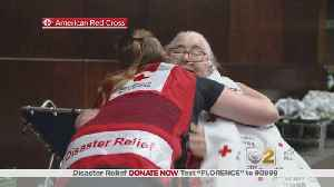 Red Cross Volunteers On The Ground After Hurricane Florence [Video]