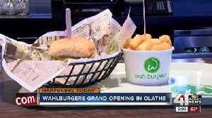Wahlburgers to open Tuesday in Olathe [Video]
