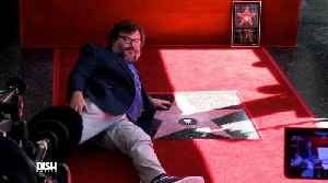Jack Black Gets His Star on the Hollywood Walk of Fame [Video]