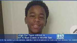 Vigil Held For Boy On Bicycle Killed In Hit-And-Run [Video]