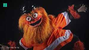 Gritty The NHL Mascot Is Terrifying [Video]