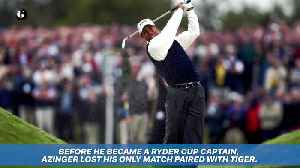 A Complete Ranking of Every Ryder Cup Partner Tiger Woods Has Ever Had [Video]