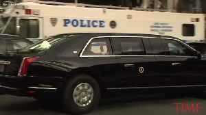 President Trump's New Presidential Limo Made Its Debut in Time for the U.N. [Video]