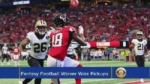 Top Fantasy Football Waiver Wire Pickups For NFL Week 4 [Video]