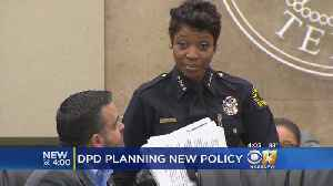 DPD Chief At Odds With Officers Over Planned Policy Changes [Video]