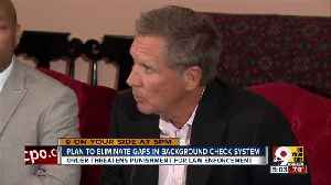 Plan to eliminate gaps in background check system [Video]