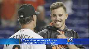 Marlins Pitcher Jose Fernandez Remembered Two Years Later [Video]