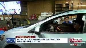 Safe Roads Now: Simulator puts teens in the distracted driver's seat [Video]