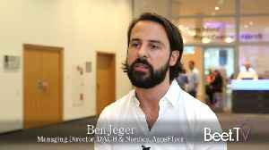 AppsFlyer's Jeger On 'Pain Points' Of App Marketing: User Engagement, Retention [Video]