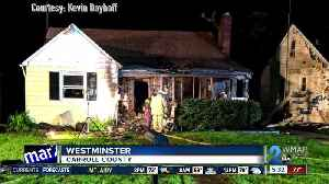 Man escapes from burning home in Westminster [Video]