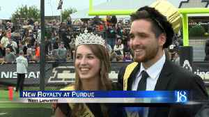 New Purdue homecoming royalty crowned after gender-neutral change [Video]