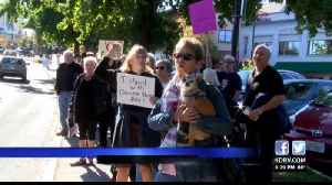 Ashland Demonstrators Show Support for Kavanaugh Accusers [Video]