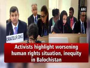 Activists highlight worsening human rights situation, inequity in Balochistan [Video]