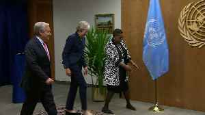 Theresa May meets UN Secretary General António Guterres [Video]