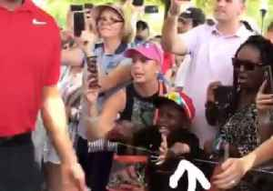 You'll Never Love Anything as Much as This Kid Loves Tiger Woods [Video]